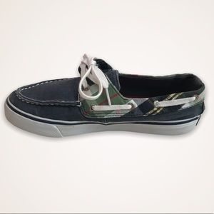 SPERRY Top-Sider Plaid And Denim Loafer